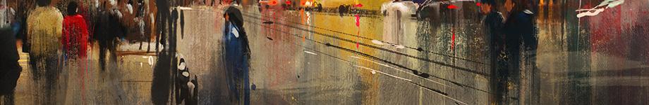 Fototapet artist canvas