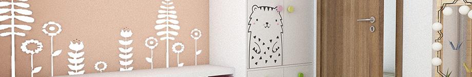 Stickere wall art