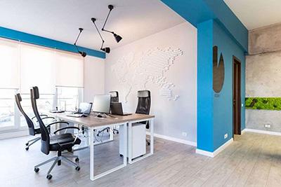 Descopera povestea unor decoratiuni custom made, pentru spatii de birouri personalizate