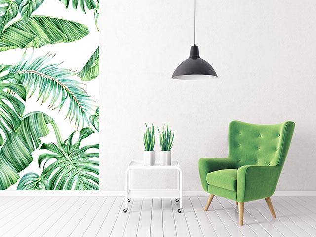 Fototapet autoadeziv ,,motive vegetale, frunze palmier,, cod FA08