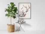 Tablou cu rama motive florale,vegetale - cod HD01