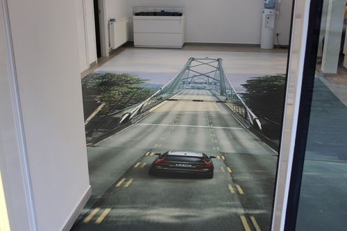 Autocolant Floor Graphics Volvo Excellence Cars