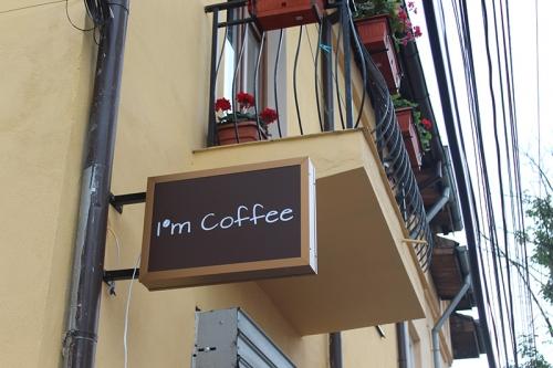 caseta luminoasa pentru cafenea