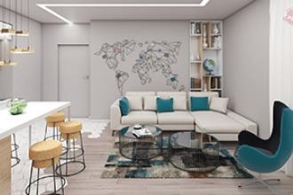 Decoratiuni apartament Otopeni