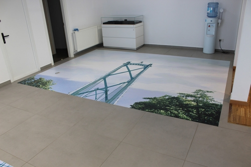 sticker floor graphics Volvo