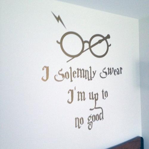 stickere perete harry potter